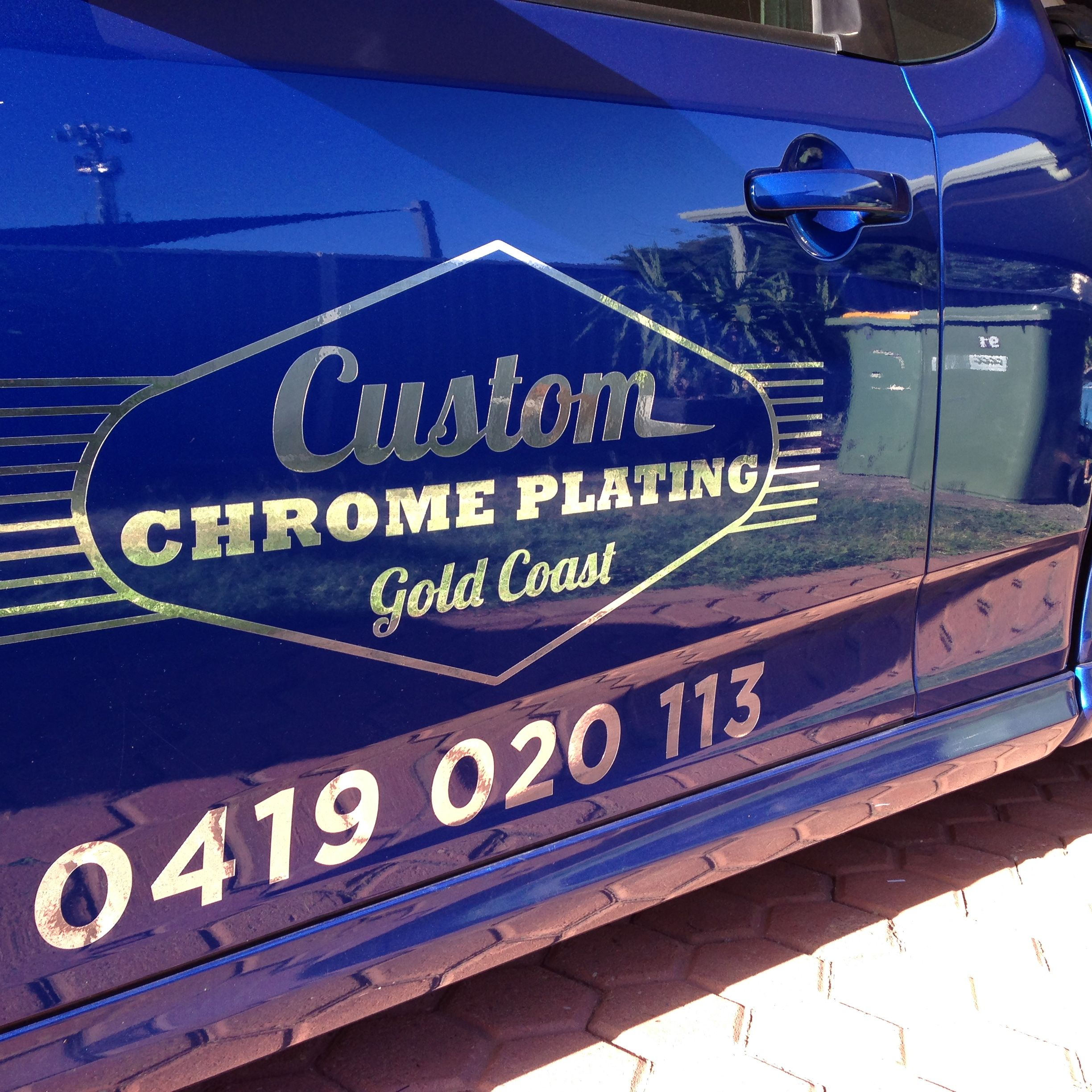 Sign Writing Vehicle - Custom Chrome Plating Gold Coast - Rasta